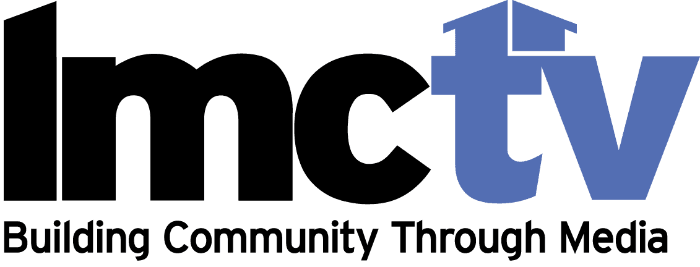 LMCTV Logo - Building Community Through Media